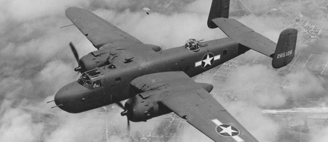 Aircraft History Of The B 25 Motoart