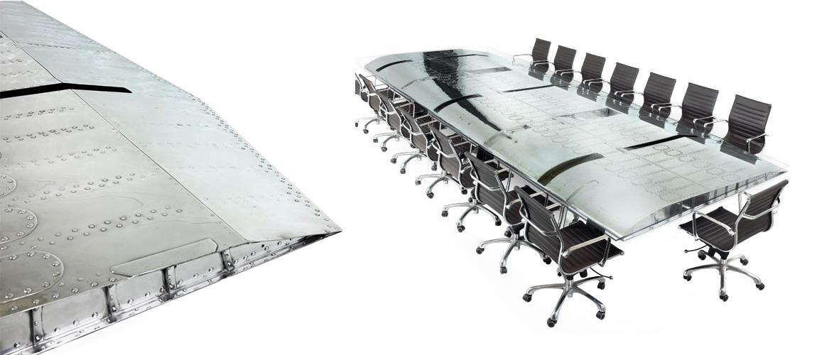 B 52 Bomber Conference Table Motoart