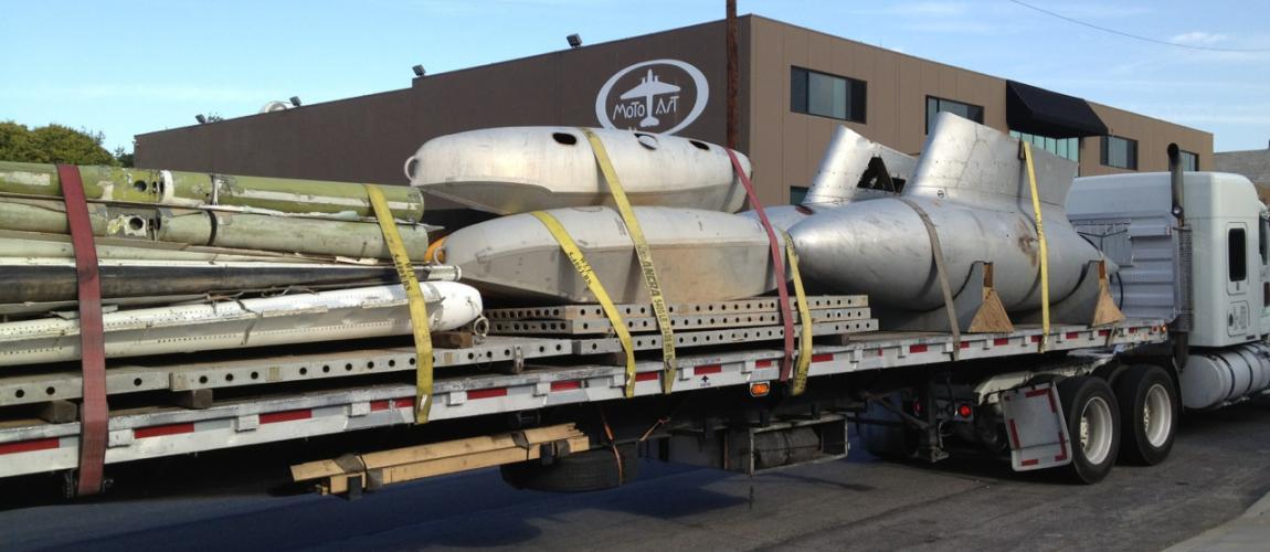 motoart showrooms motoart motoart recycles retired airplanes into futuristic